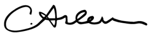 Caroline Arlen signature