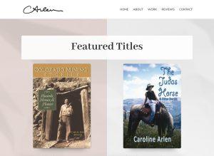 Caroline Arlen website